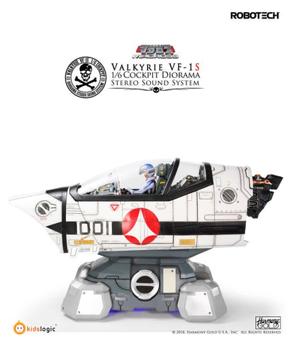 Kids Logic - Robotech Macross - VF-1S Valkyrie Cockpit with Roy Fokker (1/6 Scale) Limited Edition Diorama Digital Sound System