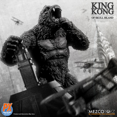 Mezco - King Kong of Skull Island B&W Version (Previews Exclusive)