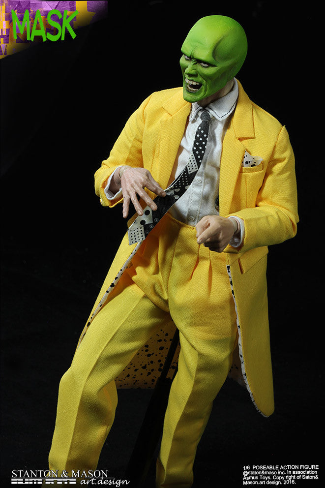 Asmus Toys x Stanton & Mason - SMA01DX - The Mask Deluxe Version (The Mask & Stanley Ipkiss)