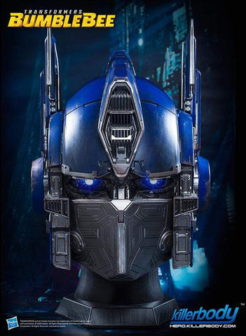 Killerbody - High End Replica - Transformers: Bumblebee - Wearable Optimus Prime Helmet