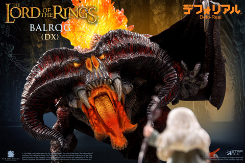 Star Ace Toys - Defo-Real - The Lord of the Rings - Balrog 2.0 (Light Up)