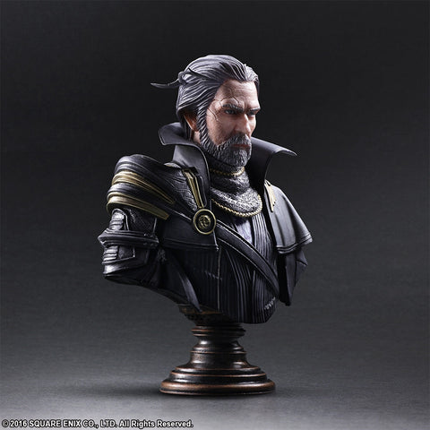 Static Arts Bust - Kingsglaive: Final Fantasy XV - King Regis Lucis Caelum - Marvelous Toys - 2