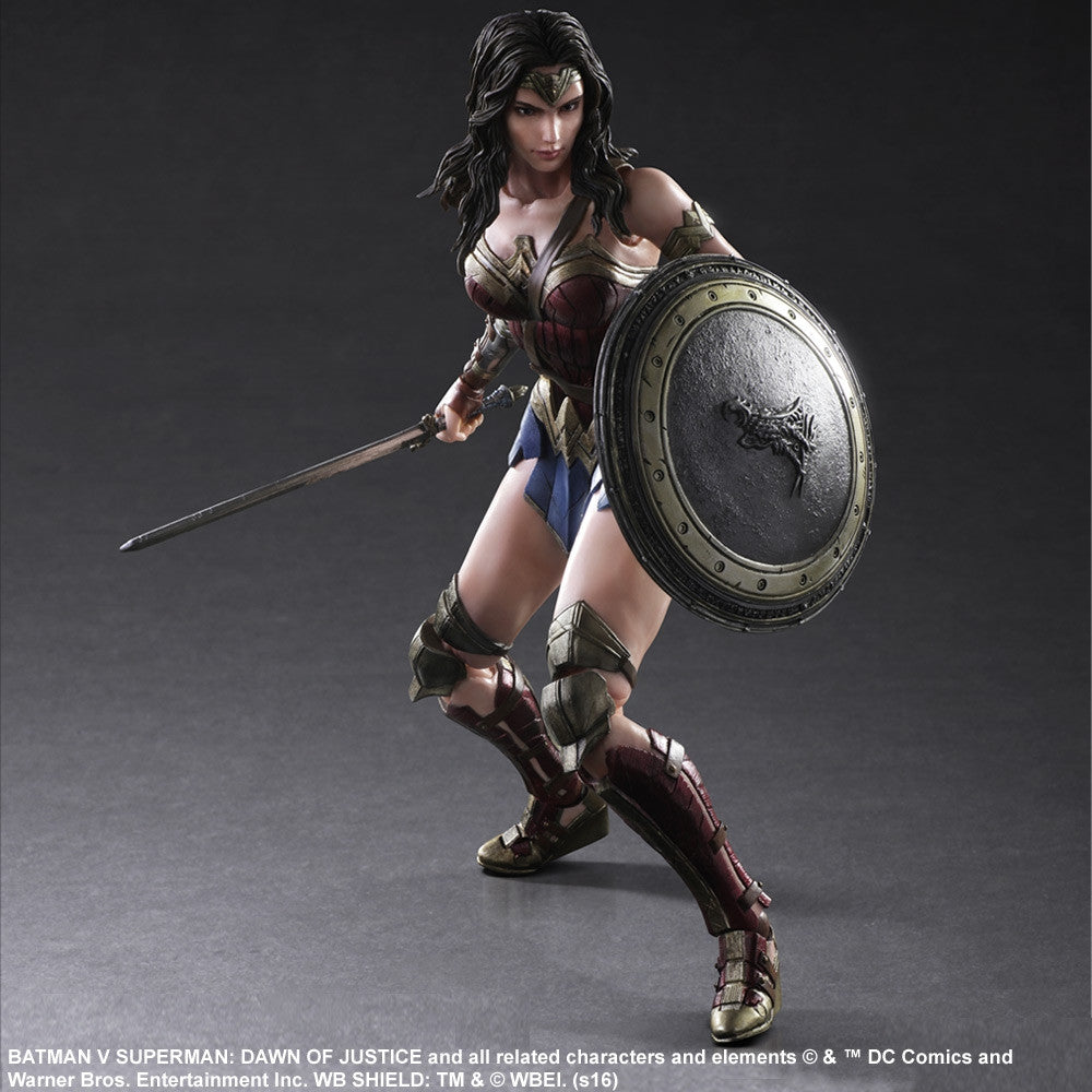 (IN STOCK) Play Arts Kai - Batman v Superman: Dawn of Justice - Wonder Woman - Marvelous Toys - 1