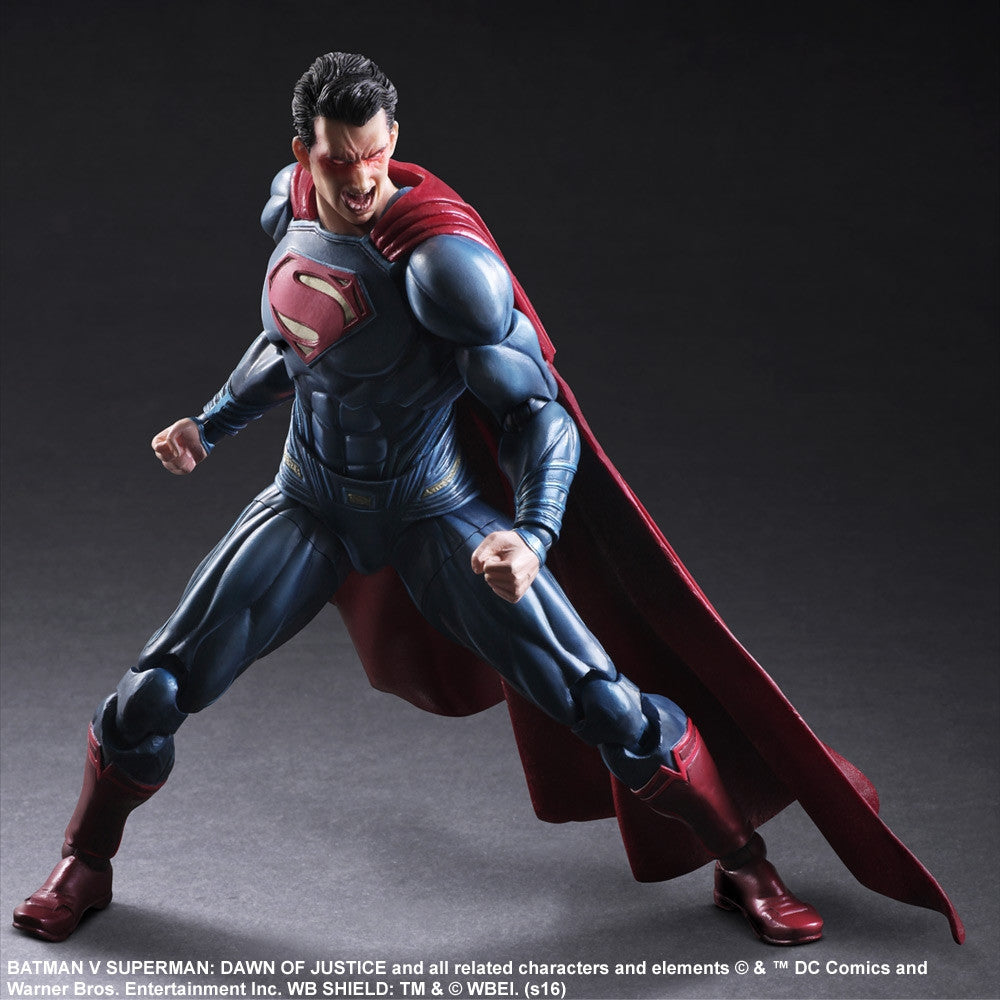 (IN STOCK) Play Arts Kai - Batman v Superman: Dawn Of Justice - Superman - Marvelous Toys - 4