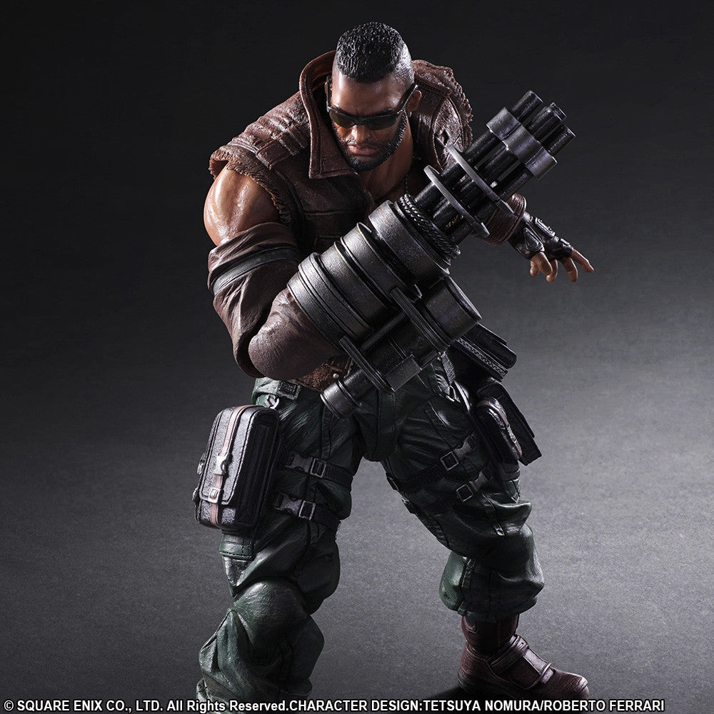 Play Arts Kai - Final Fantasy VII Remake - Barret Wallace - Marvelous Toys - 2