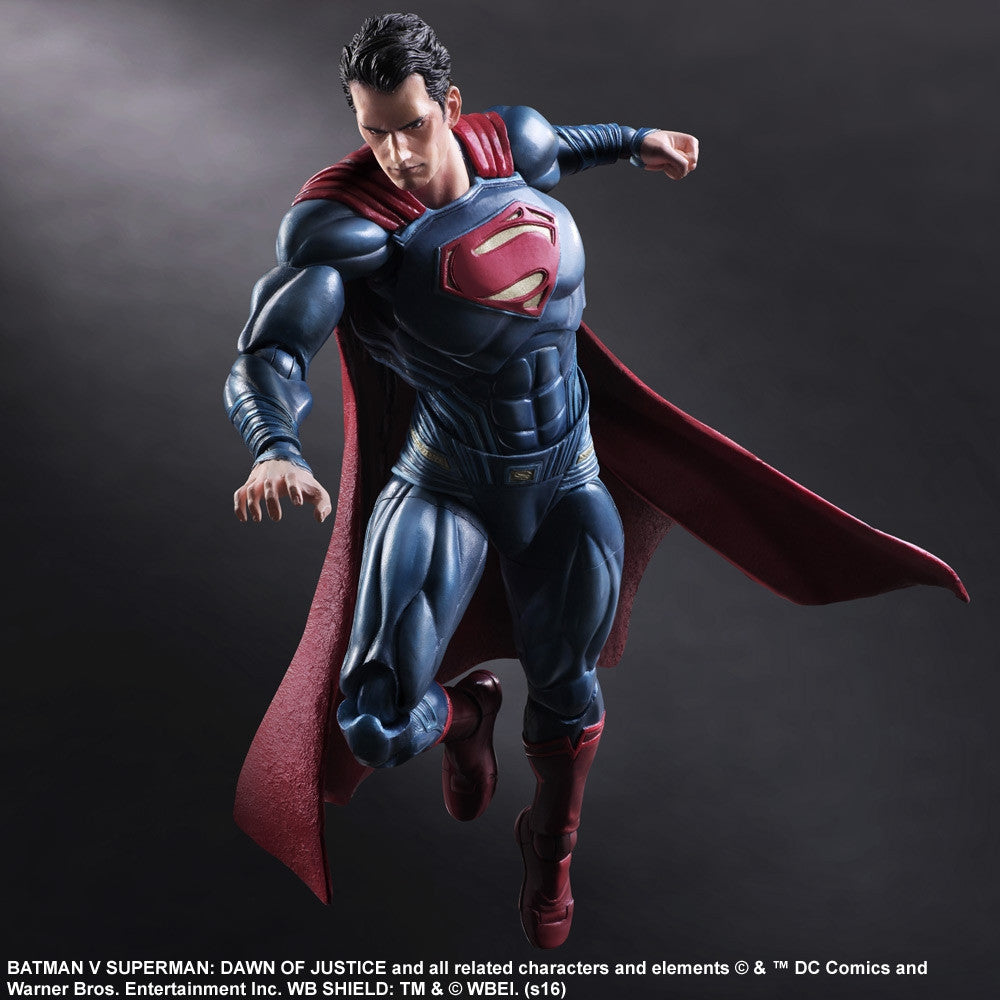 (IN STOCK) Play Arts Kai - Batman v Superman: Dawn Of Justice - Superman - Marvelous Toys - 1