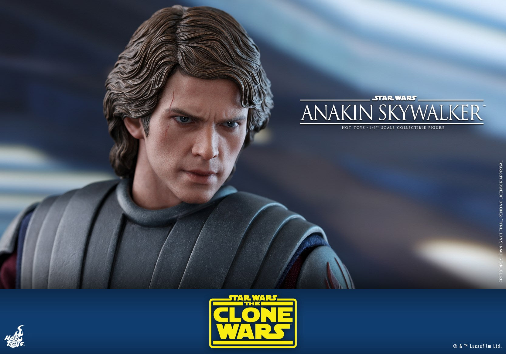 Hot Toys - TMS019 - Star Wars: The Clone Wars - Anakin Skywalker