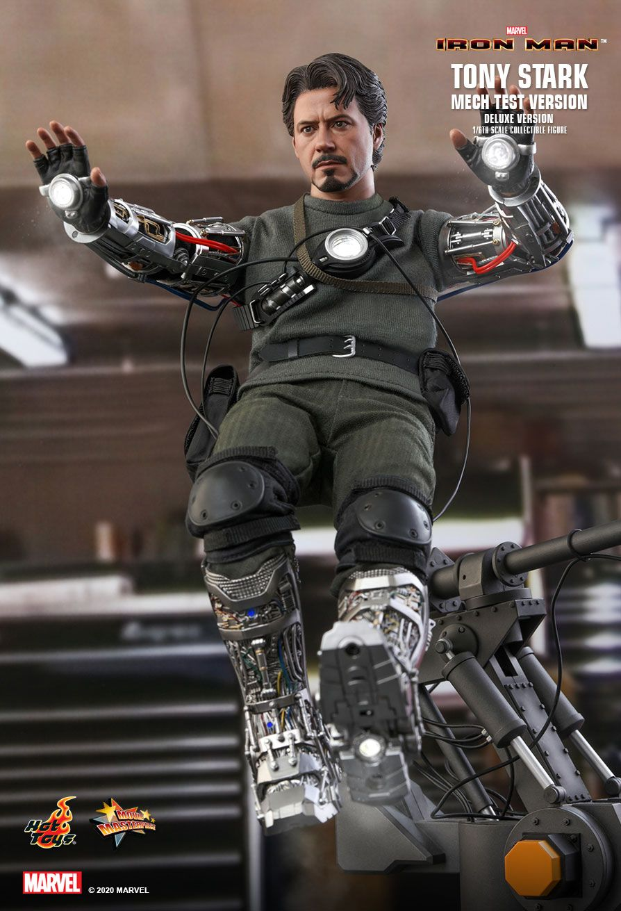 Hot Toys - MMS582 - Iron Man - Tony Stark (Mech Test Ver.) (Deluxe Ver.)