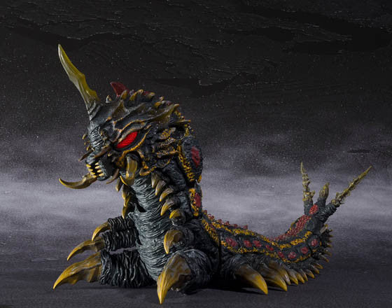 S.H.MonsterArts - Battra (Adult) and Battra (Larva) Special Color Version (TamshiiWeb Exclusive)