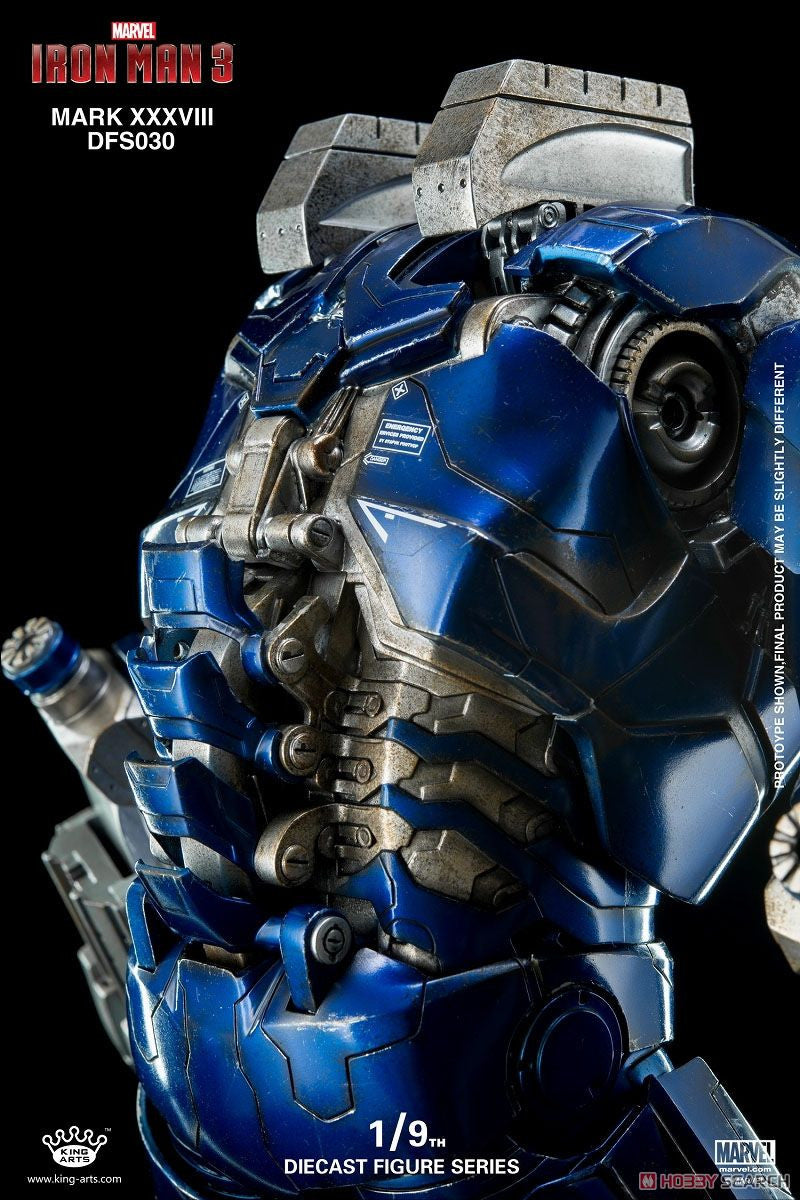 King Arts - DFS030 - Iron Man 3 - 1/9th Scale Iron Man Mark XXXVIII (38) - Marvelous Toys - 14