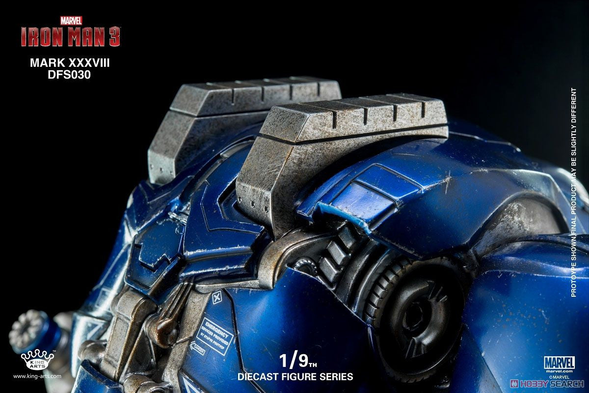 King Arts - DFS030 - Iron Man 3 - 1/9th Scale Iron Man Mark XXXVIII (38) - Marvelous Toys - 15