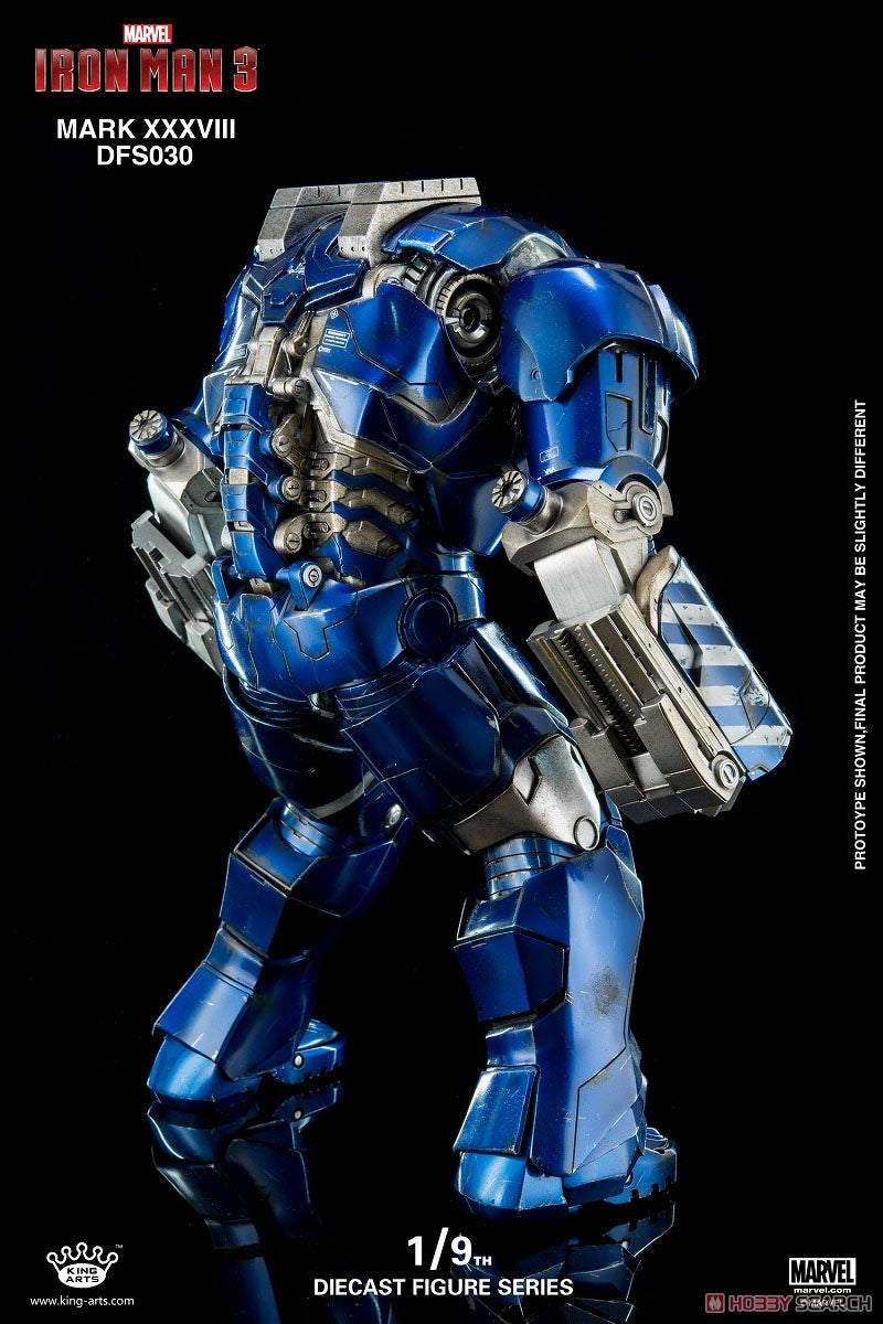 King Arts - DFS030 - Iron Man 3 - 1/9th Scale Iron Man Mark XXXVIII (38) - Marvelous Toys - 3
