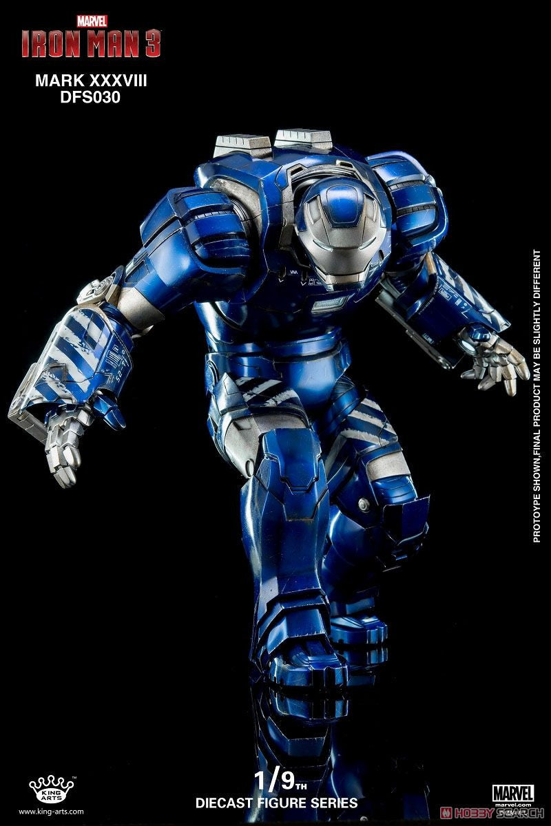King Arts - DFS030 - Iron Man 3 - 1/9th Scale Iron Man Mark XXXVIII (38) - Marvelous Toys - 5
