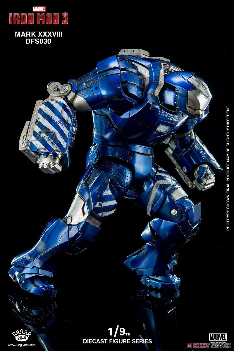 King Arts - DFS030 - Iron Man 3 - 1/9th Scale Iron Man Mark XXXVIII (38) - Marvelous Toys - 6