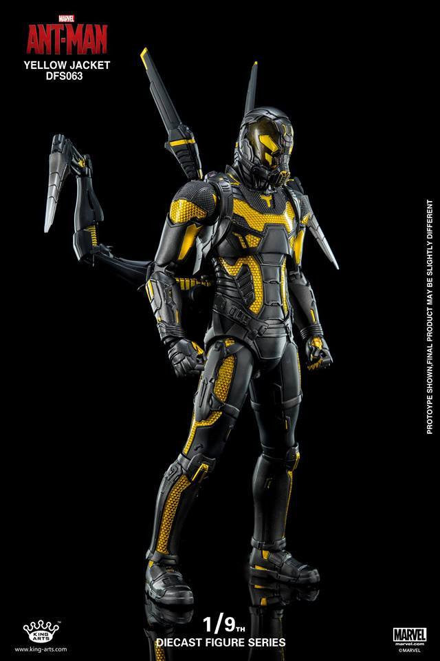 King Arts - DFS063 - Ant-Man - Yellow Jacket - Marvelous Toys - 2