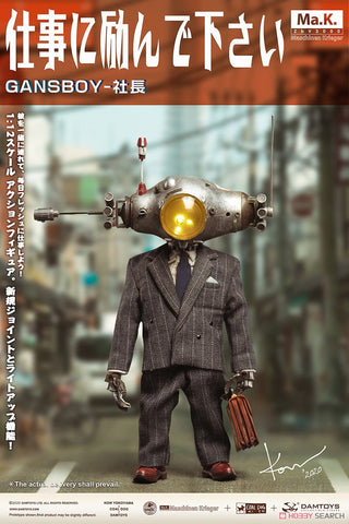 Damtoys x Coal Dog x Kow Yokoyama - Gans Boy-President (1/12 Scale)