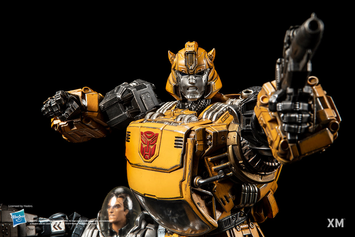 XM Studios - Transformers - Bumblebee & Spike (1/10 Scale)