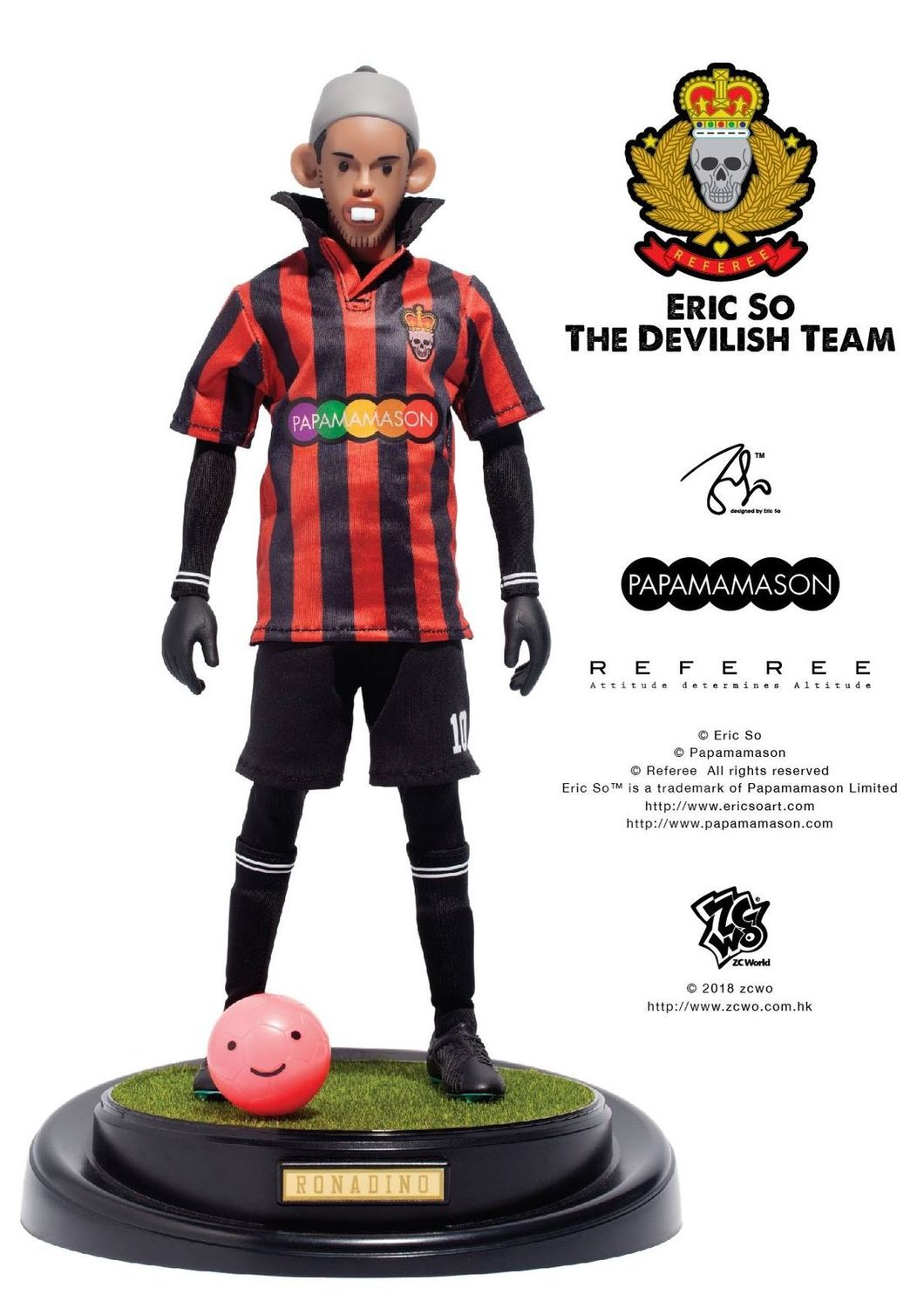 ZC World - Eric So: The Devilish Team - Ronaldinho