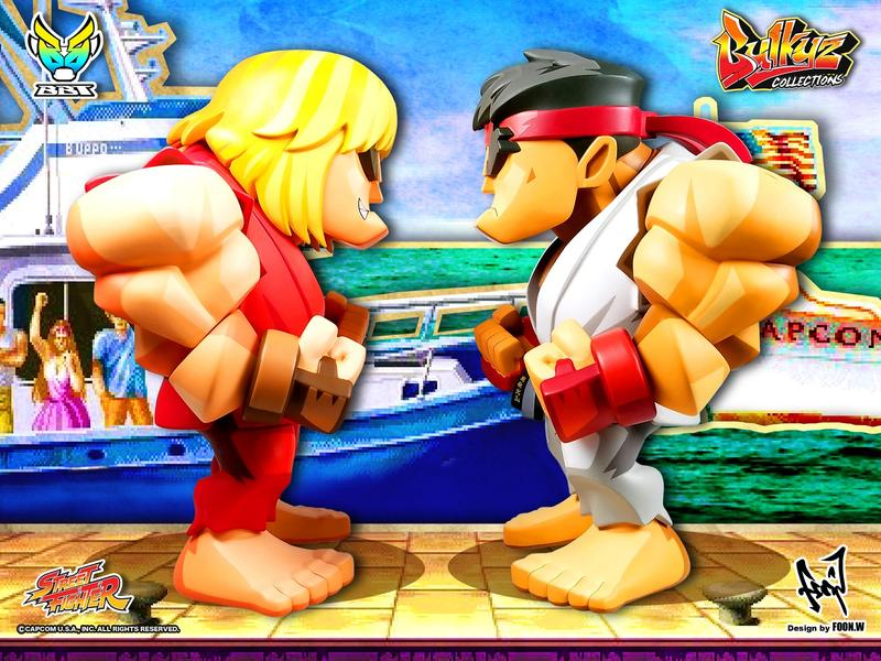 Bigboystoys - Bulkyz Collection - Street Fighter - Ken