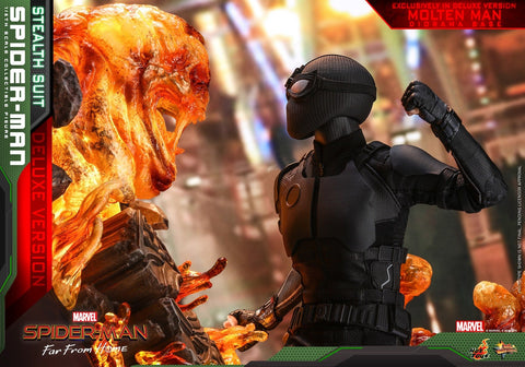 (IN STOCK) Hot Toys - MMS541 - Spider-Man: Far From Home - Spider-Man (Stealth Suit) (Deluxe Version)