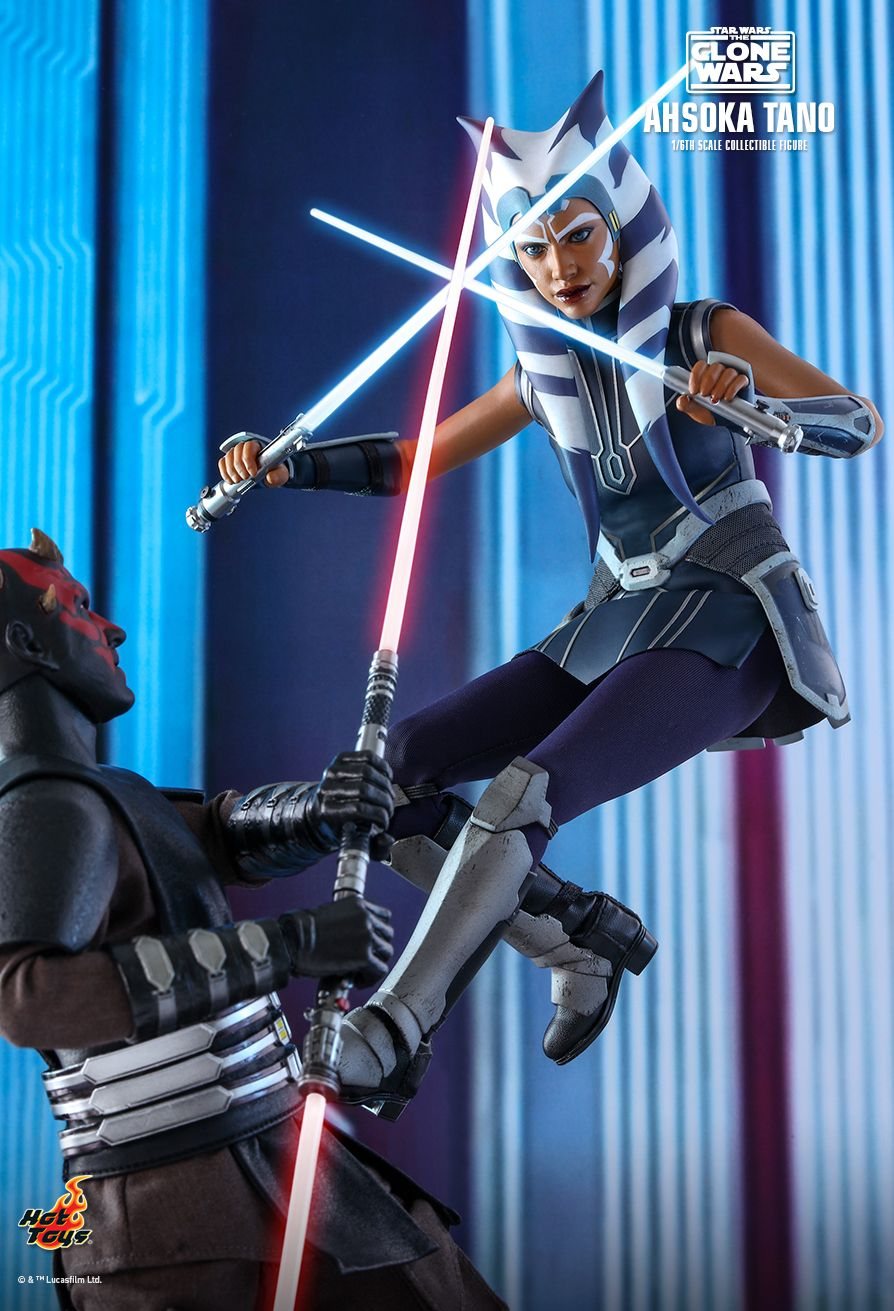 Hot Toys - TMS021 - Star Wars: The Clone Wars - Ahsoka Tano