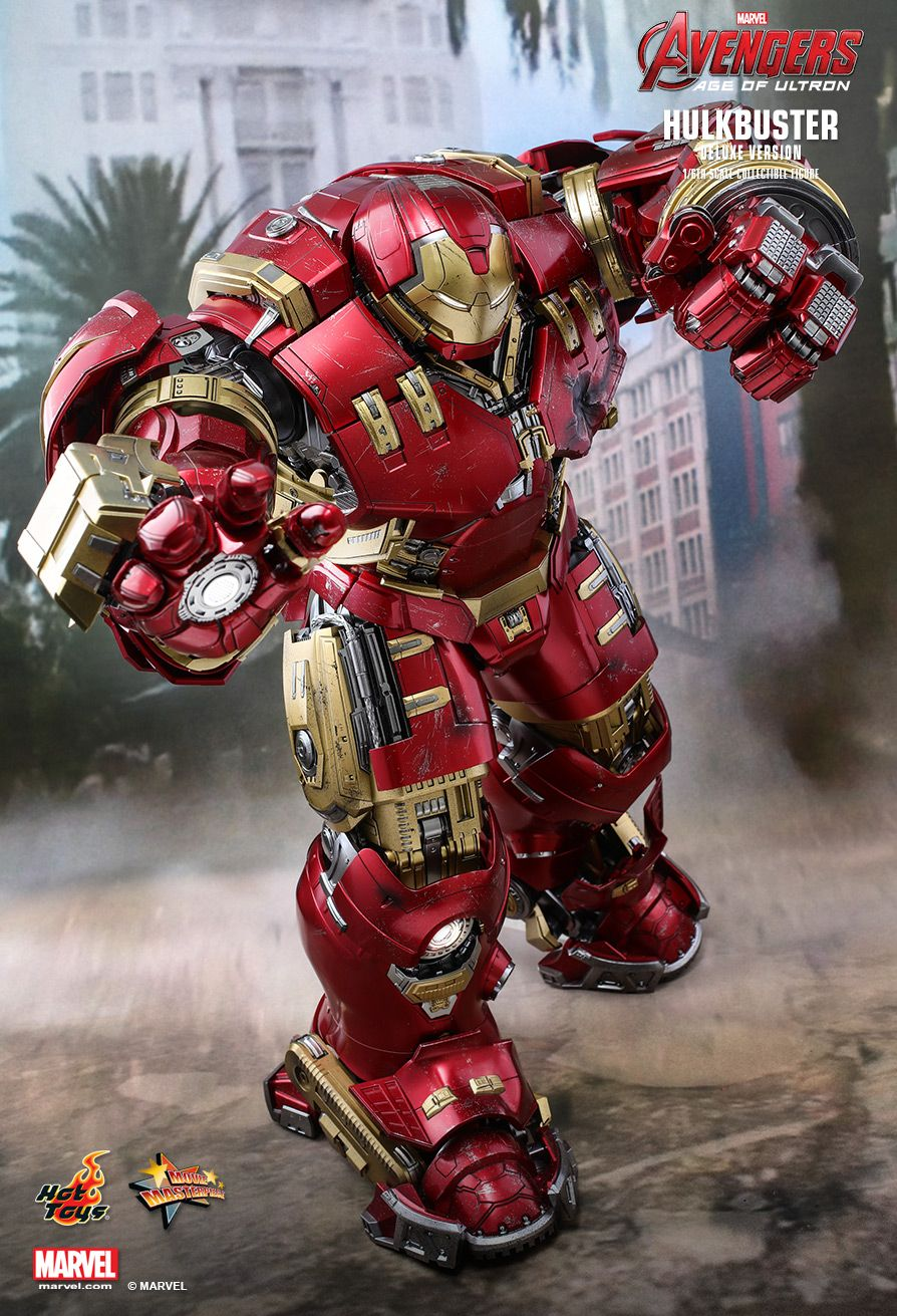 Hot Toys - MMS510 - The Avengers: Age of Ultron - Hulkbuster (Deluxe Version)