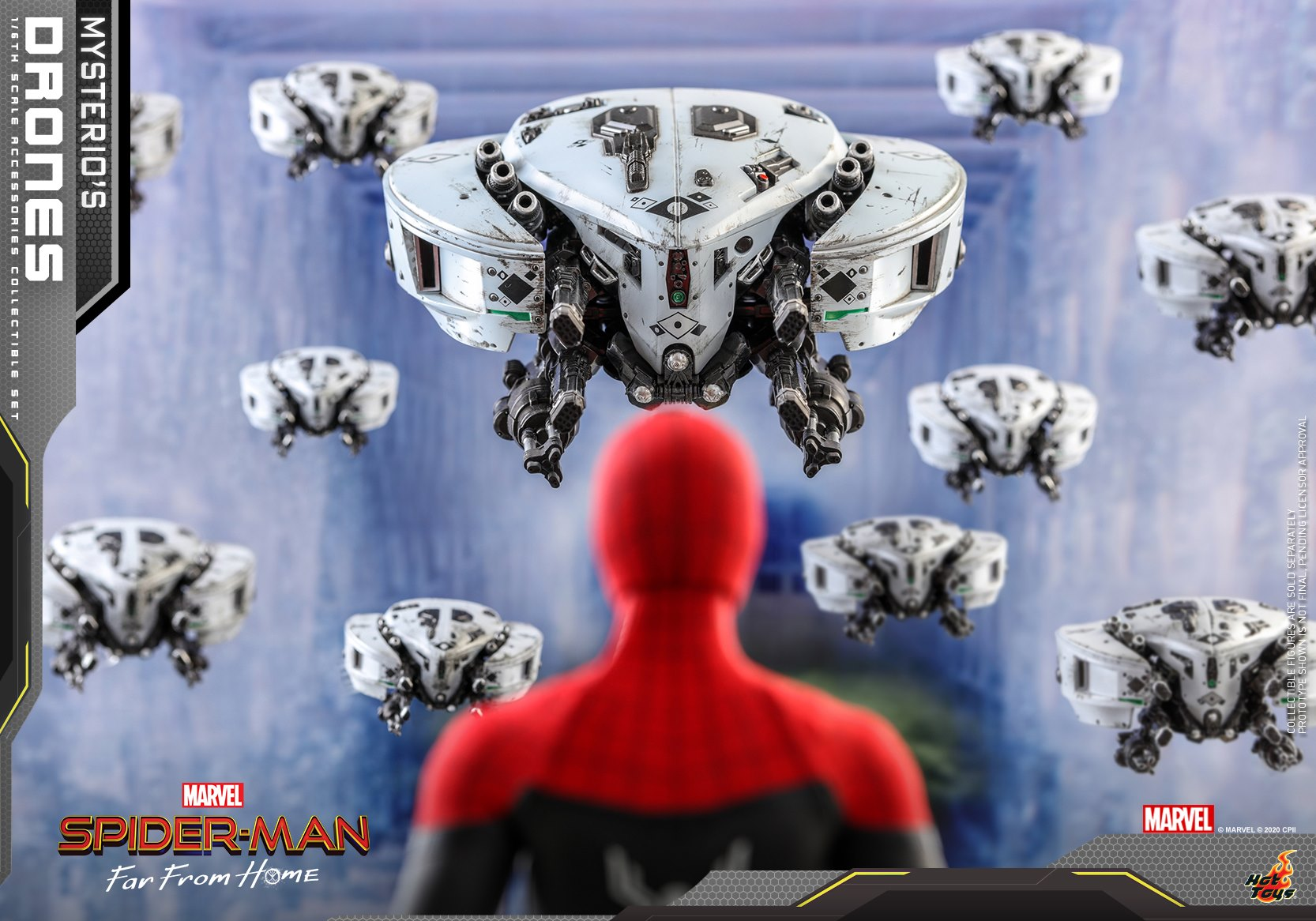 Hot Toys - ACS011 - Spider-Man: Far From Home - Mysterio's Drones