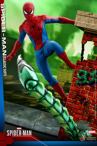 Hot Toys - VGM48 - Marvel's Spider-Man - Spider-Man (Classic Suit)