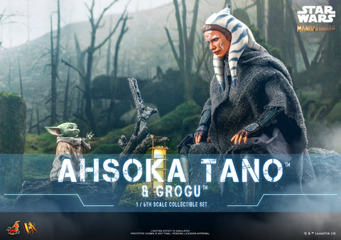 Hot Toys - DX21 - Star Wars: The Mandalorian - Ahsoka Tano & Grogu