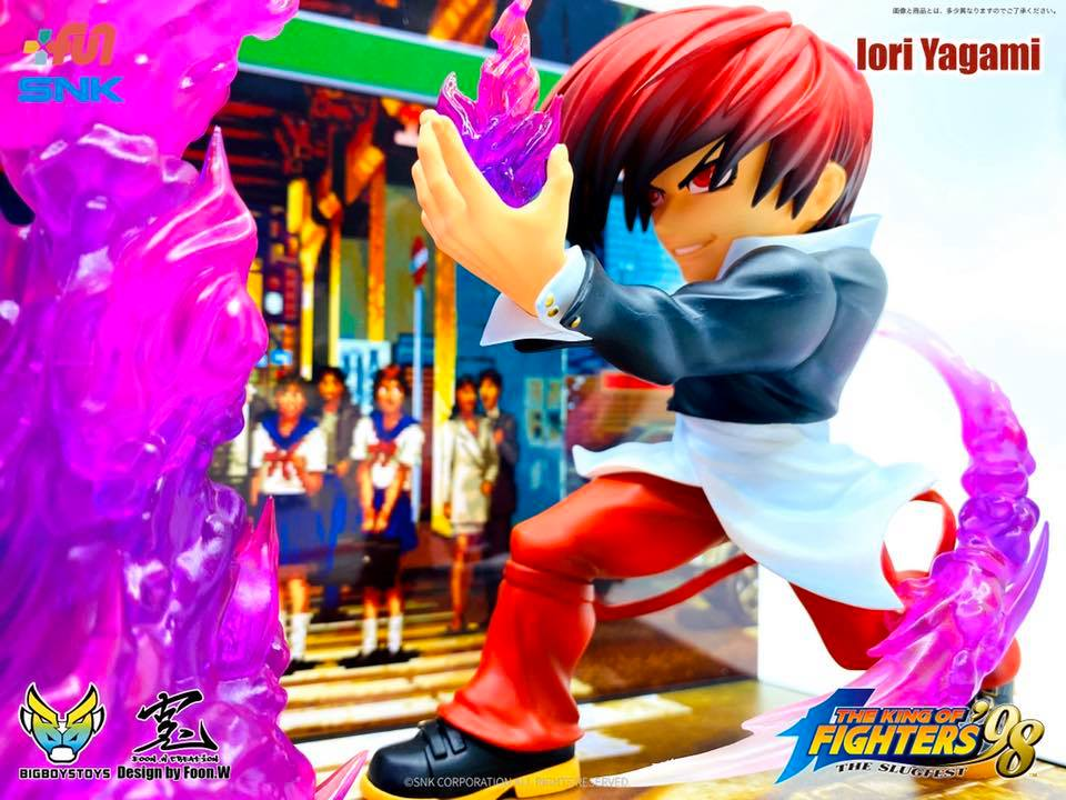 Bigboystoys - The King of Fighters '98 - The New Challenger Series T.N.C.-KOF02 - Iori Yagami