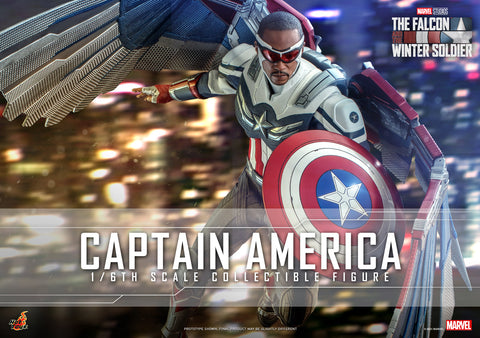 Hot Toys - TMS040 - The Falcon and the Winter Soldier - Captain America