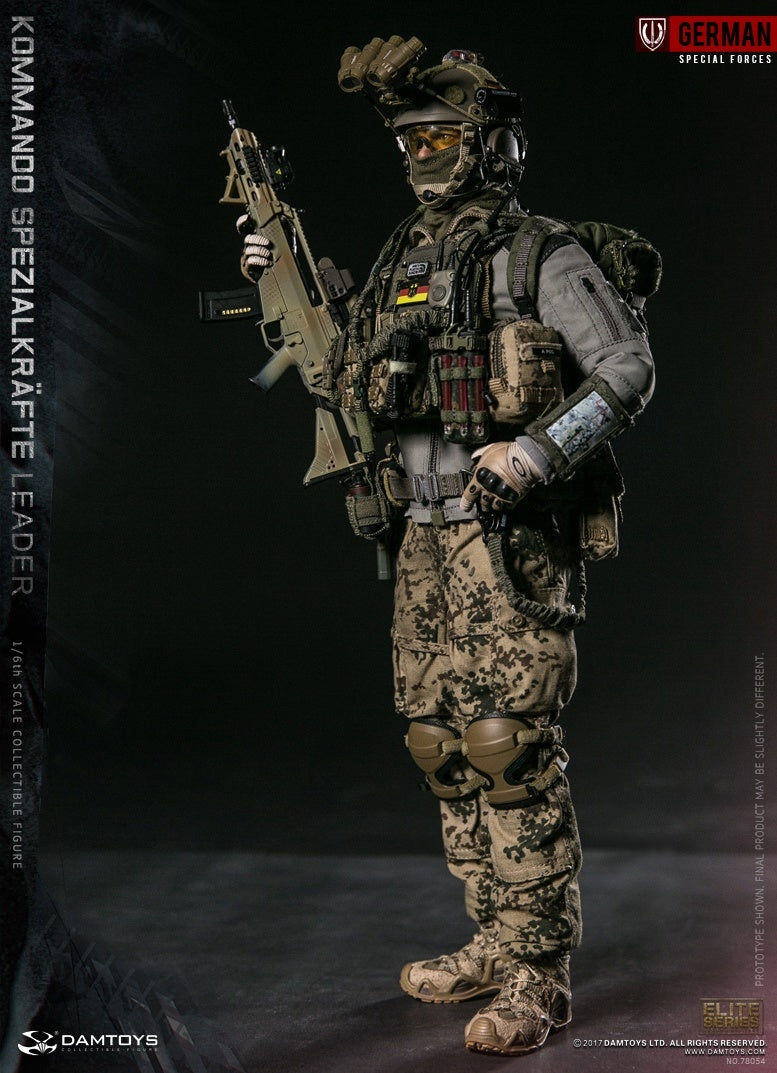 1//6 Scale G36K Assault Rifle Set Damtoys Action Figures KSK Leader