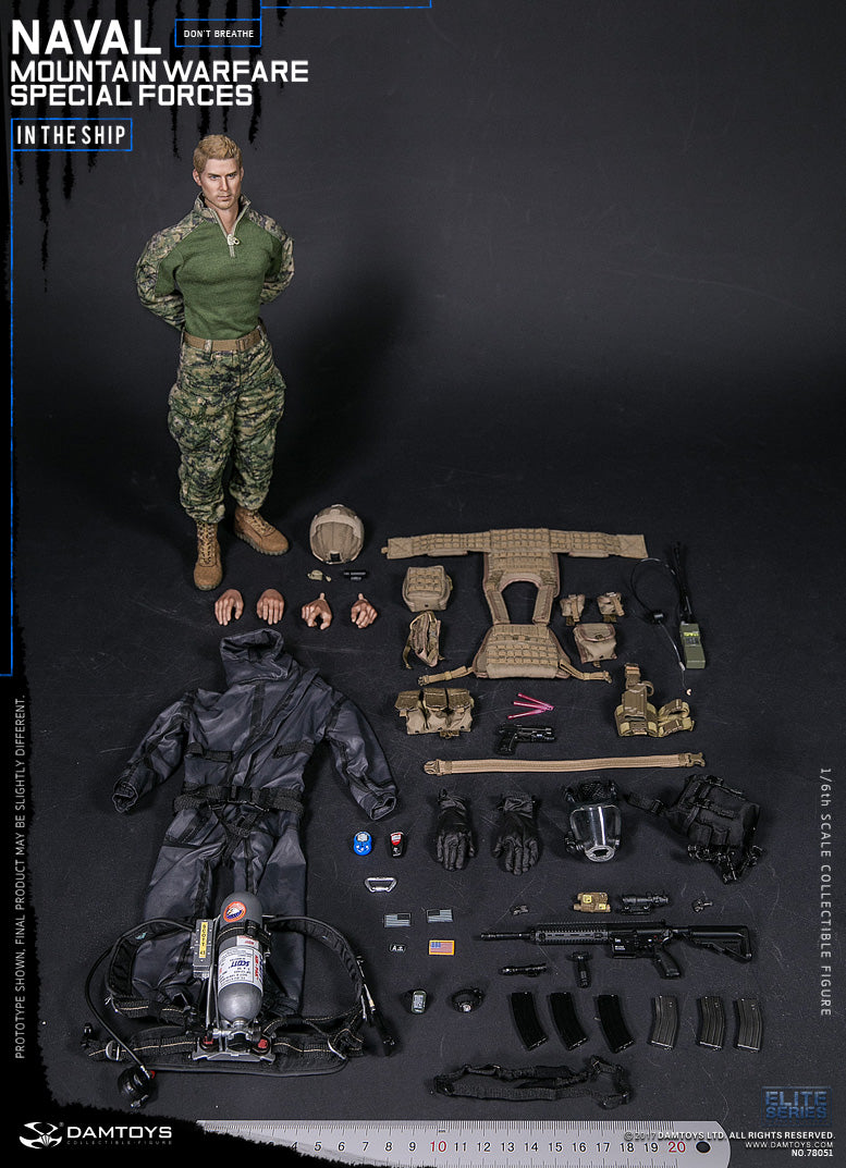 Damtoys - Elite Series - Naval Mountain Special Force