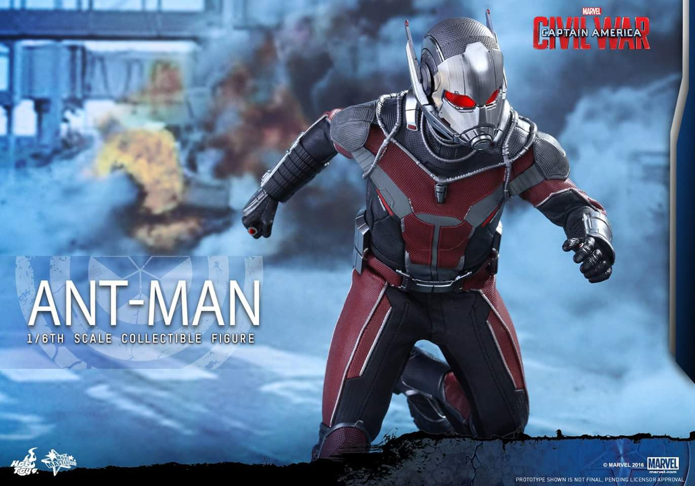 Hot Toys - MMS362 - Captain America: Civil War - Ant-Man - Marvelous Toys - 8