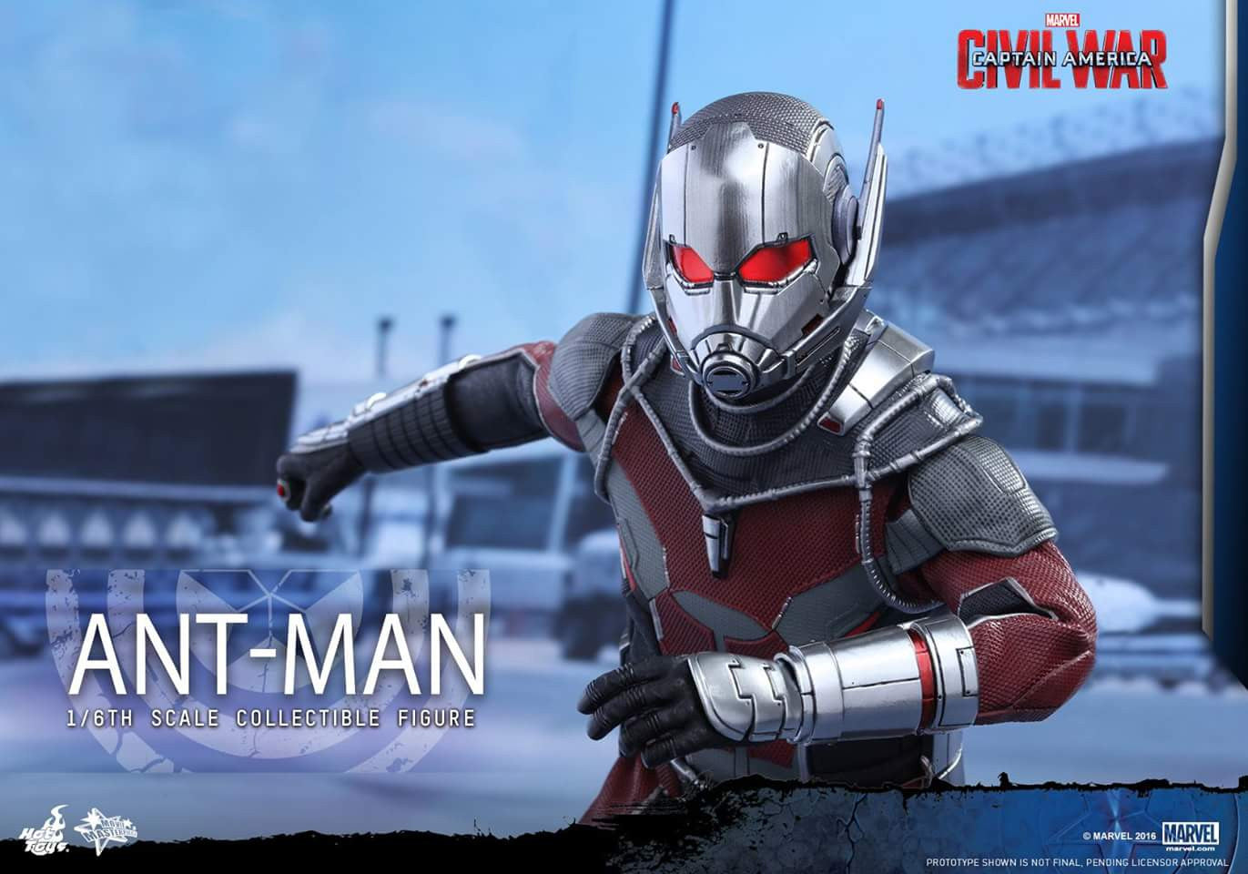 Hot Toys - MMS362 - Captain America: Civil War - Ant-Man - Marvelous Toys - 14