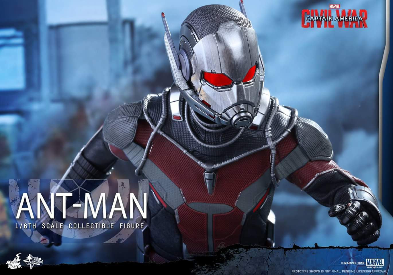Hot Toys - MMS362 - Captain America: Civil War - Ant-Man - Marvelous Toys - 13