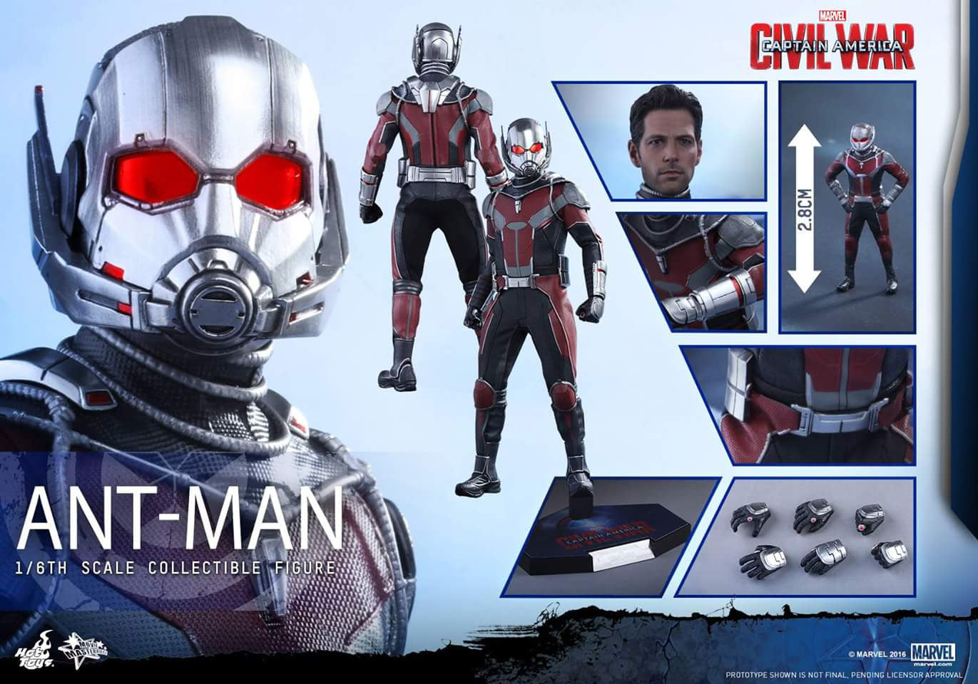 Hot Toys - MMS362 - Captain America: Civil War - Ant-Man - Marvelous Toys - 4
