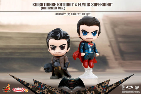 Hot Toys - COSB291 - Batman v Superman: Dawn of Justice - Armored Batman (Blue Chrome) Cosbaby (S)