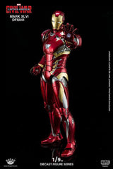 King Arts - DFS041 - Captain America: Civil War - Iron Man Mark XLVI (46) - Marvelous Toys - 1