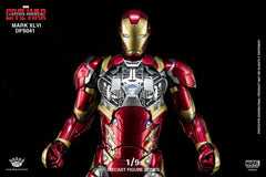 King Arts - DFS041 - Captain America: Civil War - Iron Man Mark XLVI (46) - Marvelous Toys - 5
