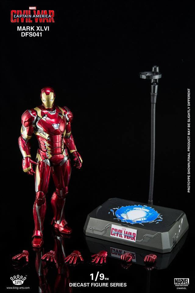 King Arts - DFS041 - Captain America: Civil War - Iron Man Mark XLVI (46) - Marvelous Toys - 6