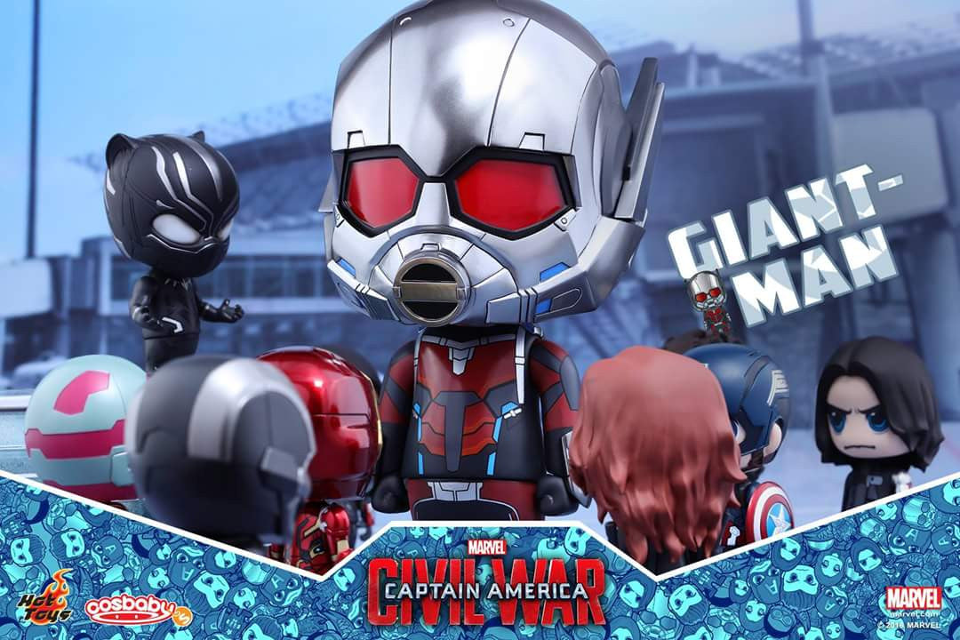 Hot Toys - COSB279 - Captain America: Civil War - Giant-Man & Miniature Ant-Man Cosbaby (S) Bobble-Head - Marvelous Toys - 4