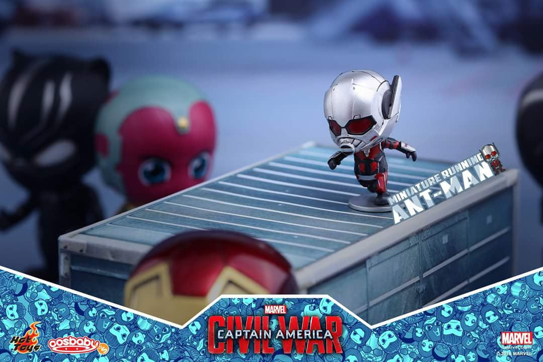 Hot Toys - COSB279 - Captain America: Civil War - Giant-Man & Miniature Ant-Man Cosbaby (S) Bobble-Head - Marvelous Toys - 3