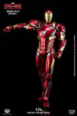 King Arts - DFS041 - Captain America: Civil War - Iron Man Mark XLVI (46) - Marvelous Toys - 8