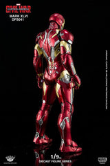 King Arts - DFS041 - Captain America: Civil War - Iron Man Mark XLVI (46) - Marvelous Toys - 9