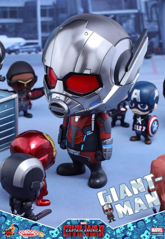Hot Toys - COSB279 - Captain America: Civil War - Giant-Man & Miniature Ant-Man Cosbaby (S) Bobble-Head - Marvelous Toys - 5