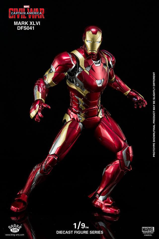 King Arts - DFS041 - Captain America: Civil War - Iron Man Mark XLVI (46) - Marvelous Toys - 10