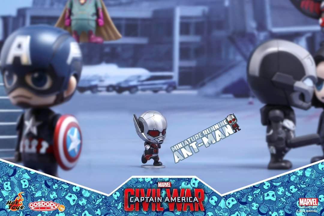 Hot Toys - COSB279 - Captain America: Civil War - Giant-Man & Miniature Ant-Man Cosbaby (S) Bobble-Head - Marvelous Toys - 6