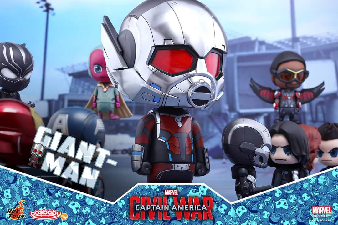 Hot Toys - COSB279 - Captain America: Civil War - Giant-Man & Miniature Ant-Man Cosbaby (S) Bobble-Head - Marvelous Toys - 7