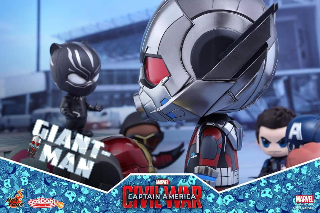 Hot Toys - COSB279 - Captain America: Civil War - Giant-Man & Miniature Ant-Man Cosbaby (S) Bobble-Head - Marvelous Toys - 8